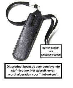 Lederen E-sigaret Opberghoes
