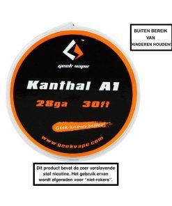 GeekVape Kanthal A1 Tape Wire (28GA)