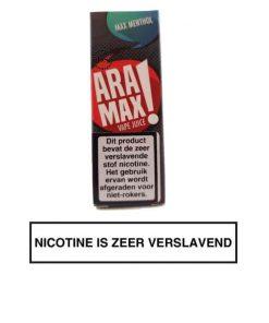 Aramax Max Menthol E-liquid