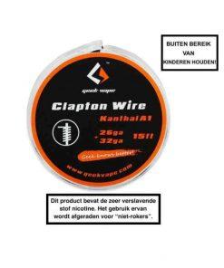 GeekVape Clapton Kanthal KA1 Wire (26GA + 32GA)
