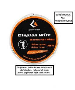 GeekVape Clapton Kanthal KA1/Ni80 Tape Wire (26GA Ni80 + 32GA)