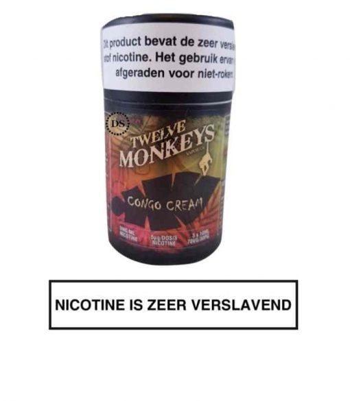 Twelve Monkeys E-liquid Congo Cream