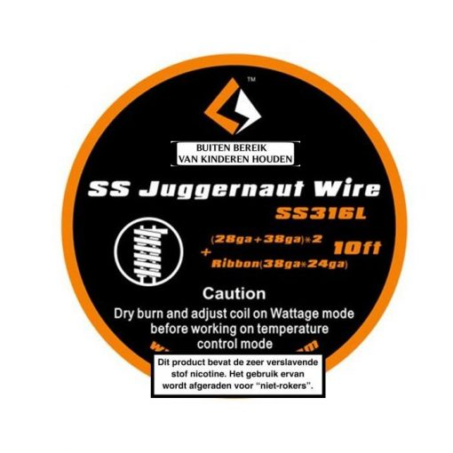 GeekVape SS Juggernaut Wire SS316L