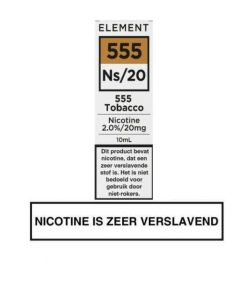 Element Nic Salts 555 Tobacco Ns/20MG