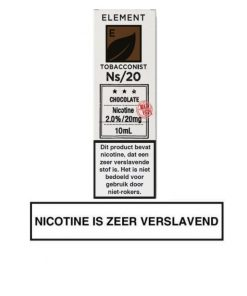 Element Nic Salts Chocolate Tobacco Ns/20MG