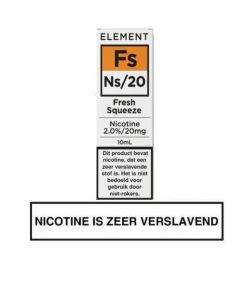Element Nic Salts Fresh Squeeze Ns/20MG