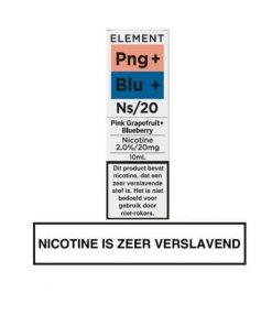 Element Nic Salts Pink Grapefruit Blueberry Ns/20MG