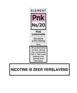 Element Nic Salts Pink Lemonade Ns/20MG