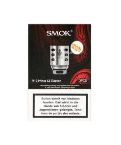 SMOK V12 Prince X2 Clapton Coils