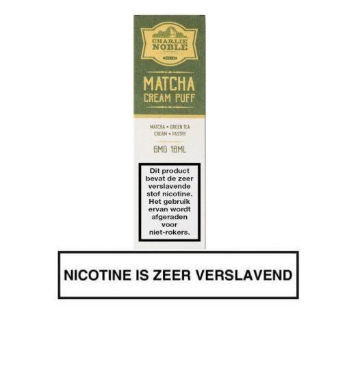Charlie Nobel Matcha Cream Puff