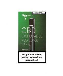 Izy Vape 100MG CBD Wegwerp E-sigaret