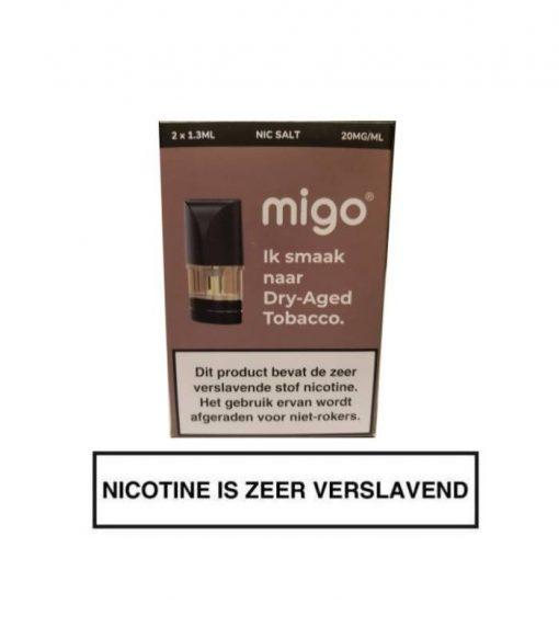 Migo Pod Dry-Aged Tobacco