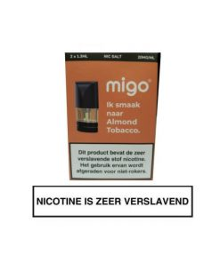 Migo Pod Almond Tobacco