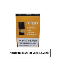 Migo Pod Lemon Meringue