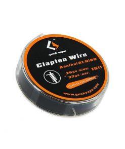 GeekVape Clapton Kanthal KA1/Ni80 Wire (26GA + 32GA)