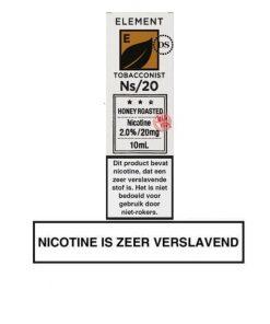 Element Nic Salts Honey Roasted Tobacco Ns/20MG