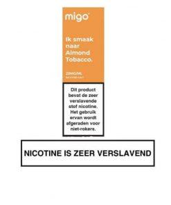 Migo Nic Salt Almond Tobacco
