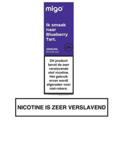 Migo Nic Salt Blueberry Tart