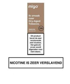 Migo Nic Salt Dry Aged Tobacco