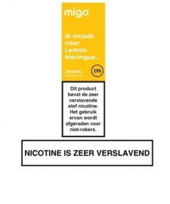 Migo Nic Salt Lemon Meringue