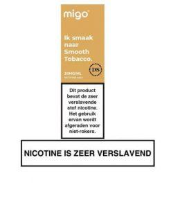 Migo Nic Salt Smooth Tobacco