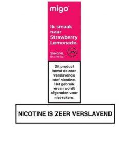 Migo Nic Salt Strawberry Lemonade