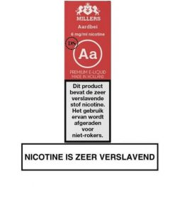 Millers Juice Silverline - Aardbei