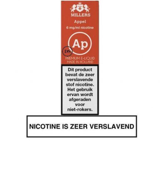 Millers Juice Silverline - Appel