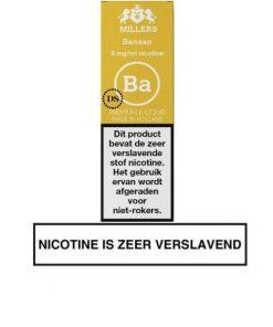 Millers Juice Silverline - Banaan
