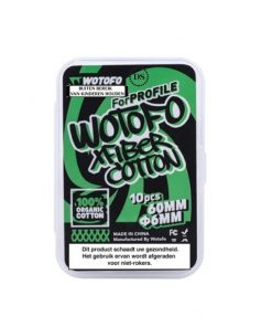 Wotofo Xfiber Cotton Anglets 6mm