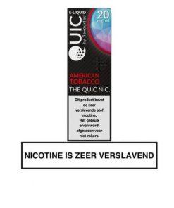 Flavourtec American Tobacco nic salt e-liquid 20mg