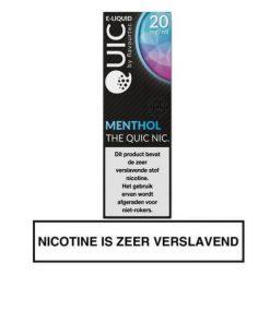 Flavourtec Menthol nic salt e-liquid 20mg