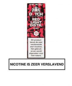 DVTCH Nic Salt Red Light District e-liquid