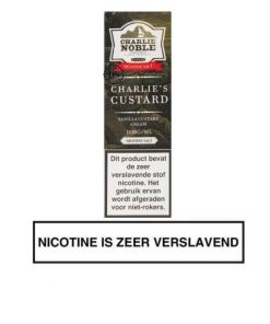 Charlie Custard - Charlie Noble Nic Salt e-liquid