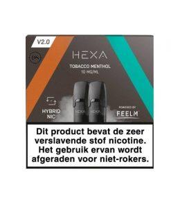 Hexa 2.0 Pod Tobacco Menthol