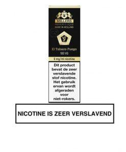 Millers Juice Goldline - El Tabaco Fuego e-liquid