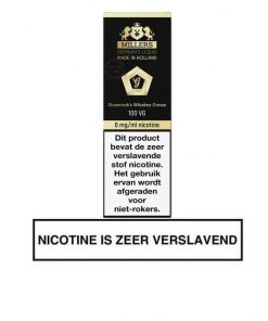 Millers Juice Goldline Shamrock's Whiskey Cream e-liquid